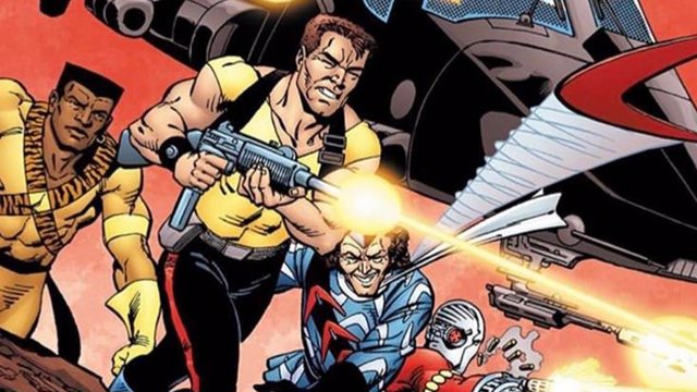 El Escuadrón Suicida en su versión de cómic