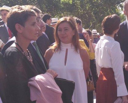 La presidenta Armengol asiste a los actos conmemorativos del 12 de octubre en Madrid