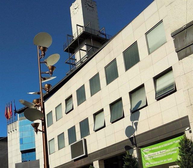 Imagen de recurso de la fachada del Ayuntamiento de Getafe.