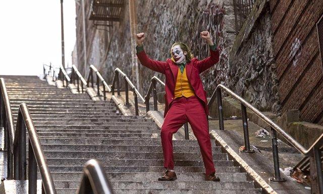 Joaquin Phoenix como Joker en la ya célebre escena