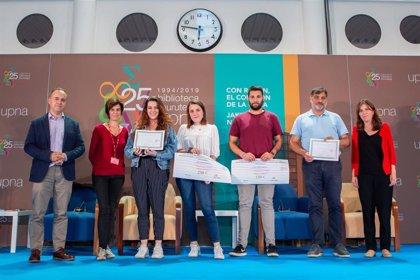 Beatriz Unanua y Miriam Urriza ganan el concurso de microrrelato organizado por la Biblioteca de la UPNA