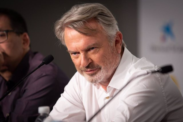 L'actor Sam Neill al Sitges Film Festival 2019