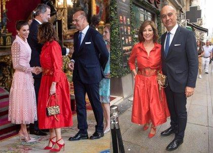 Ana Rosa Quintana, doblete: De ver a los Reyes a una boda