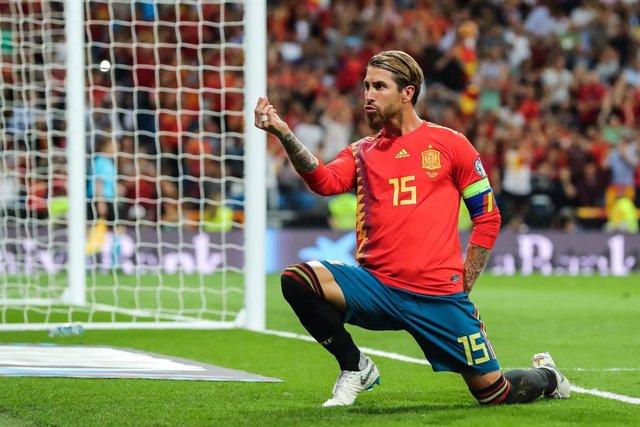 Fútbol/Selección.- Sergio Ramos se convierte en el internacional español con más