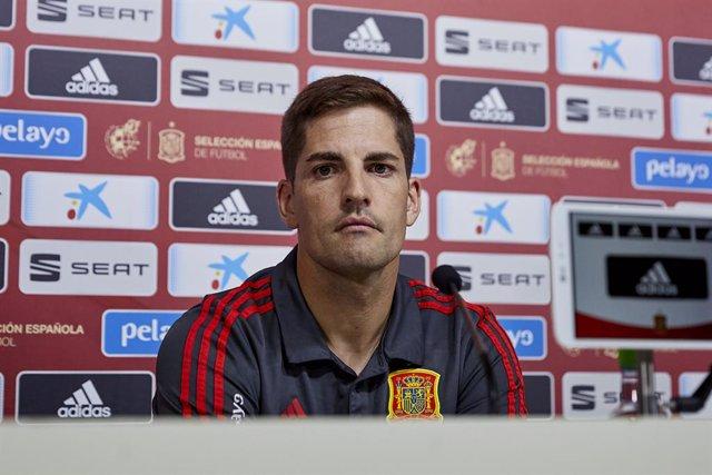 """Fútbol/Selección.- Robert Moreno: """"Hemos estado un poco nerviosos los últimos mi"""
