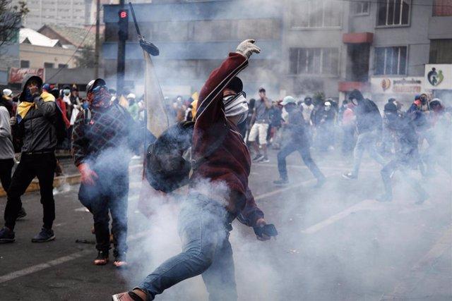 """Ecuador.- La CIDH pide un """"urgente"""" esfuerzo de diálogo y respeto a los Derechos"""