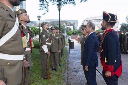 Las Palmas de Gran Canaria celebra el 424 aniversario de la Batalla de la Naval, en la que se repelió al corsario Drake