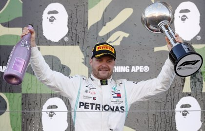 Bottas gana la partida a los Ferrari en Suzuka y Sainz termina quinto