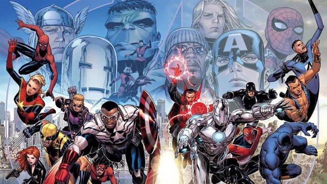 Personajes de cómic de Marvel