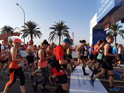 Restricciones de tráfico este domingo en el centro de Palma por la celebración de la Zafiro Palma Marathon
