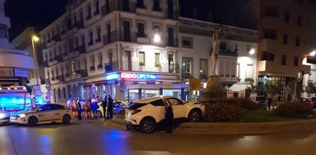 Accidente en Almendralejo