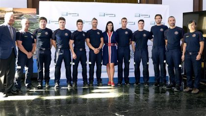 Santander incorpora siete bomberos a su parque municipal