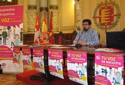 El Ayuntamiento de Valladolid abre este martes la votación online de los Presupuestos Participativos