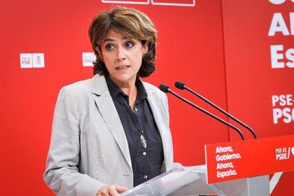 """Delgado: """"Exhumar a Franco es la mayor victoria de la democracia en los últimos 40 años"""""""