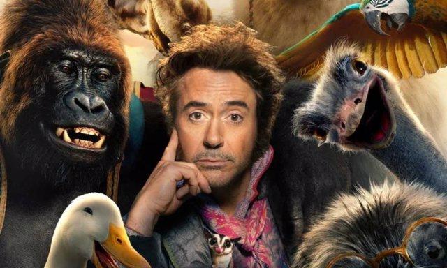 Robert Downey Jr cambia a los Vengadores por animales