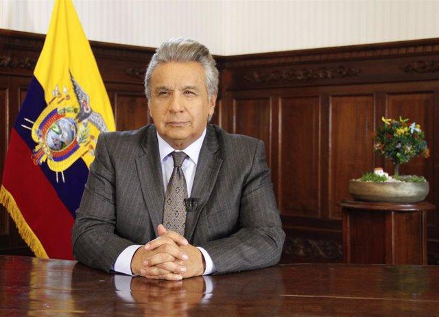 El president de l'Equador, Lenín Moreno.