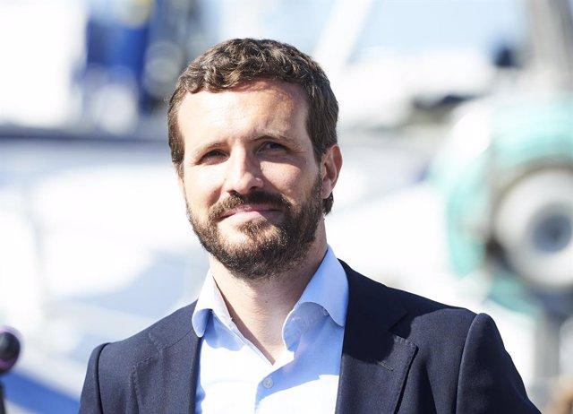 El president del Partit Popular, Pablo Casado.
