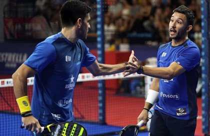 Maxi Sánchez y 'Sanyo' Gutiérrez y las hermanas Sánchez Salayeto, campeones del Estrella Damm Menorca Open 2019