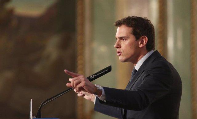 El president de Ciudadanos (Cs), Albert Rivera.