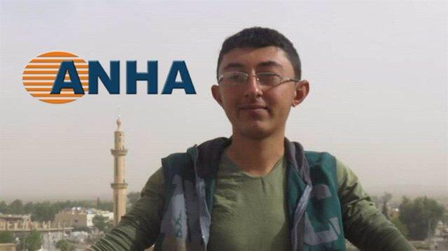 El periodista de ANHA Saad al Ahmad, muerto en un bombardeo turco en el norte de Siria