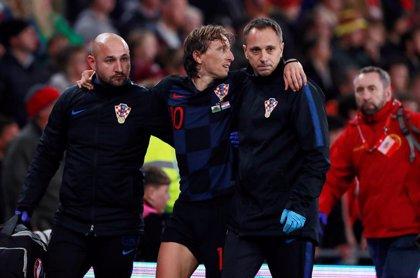 Bale y Modric salen lesionados del empate entre Gales y Croacia