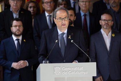 """Quim Torra pide una reunión urgente con el Rey y Pedro Sánchez sobre la """"crisis"""" que abre la sentencia"""