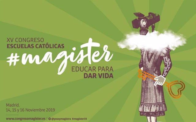 El decimoquinto congreso de Escuelas Católicas se celebrará los días 14, 15 y 16 de noviembre en el Hotel Marriott Auditorium de Madrid