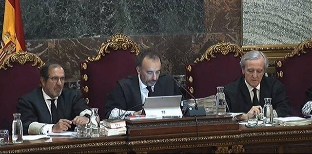 El jutge Marchena en el judici del procés (arxiu)