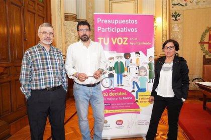 Los vallisoletanos podrán elegir desde este martes los proyectos de Presupuestos Participativos entre 146 propuestas