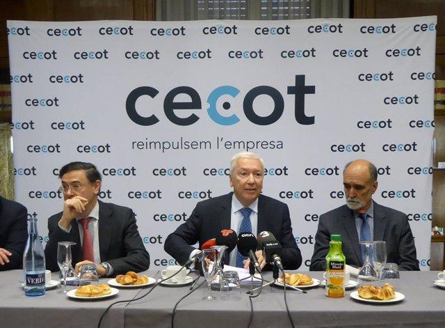 El president de Cecot, Antoni Abad