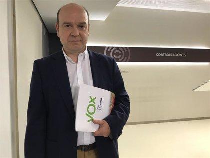 Vox en Aragón urge a agilizar el Corredor Cantábrico-Mediterráneo para no comprometer el futuro de Teruel