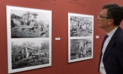 La Glorieta acoge la exposición 'La riada de Santa Teresa de 1879: una tragedia en la Huerta de Murcia'