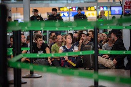 Cancelados tres vuelos entre Baleares y Barcelona por las protestas por la sentencia del procés