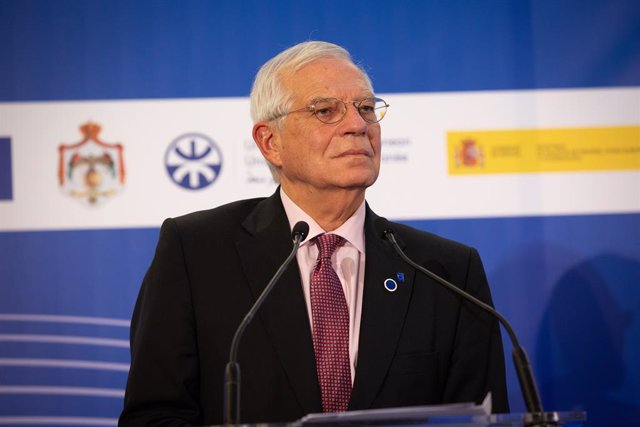 Josep Borrell en el Frum Regional de la Unió pel Mediterrani.