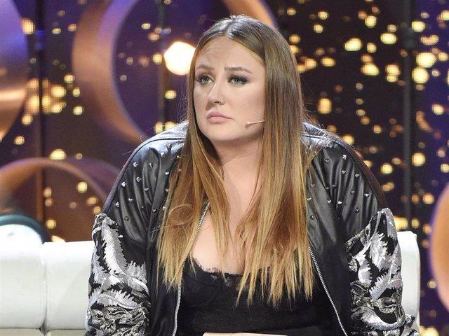 Rocío Flores en el plató de 'GH VIP 7'