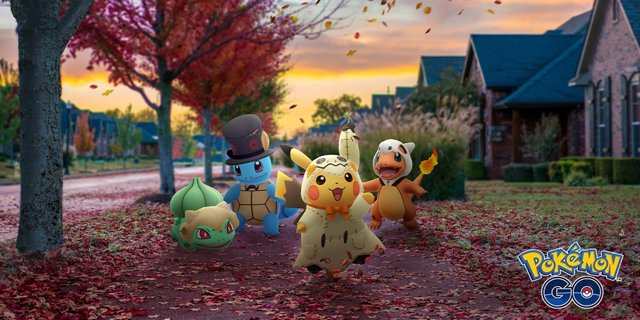 Evento Pokemon Go Halloween