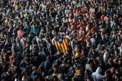 La premsa internacional es fa ressò de la sentència del procés i de les protestes a Catalunya (David Zorrakino - Europa Press)