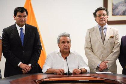"""Moreno confirma que en las """"próximas horas"""" derogará el polémico decreto que suscitó las protestas en Ecuador"""