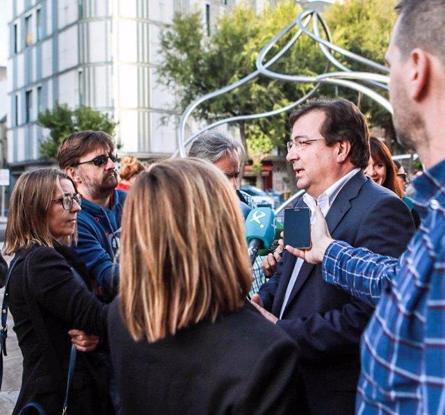 Vara en declaraciones a los medios de comunicación sobre la sentencia del 'procés'