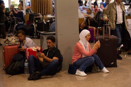 Ascienden a 110 los vuelos del Aeropuerto de Barcelona cancelados por las protestas