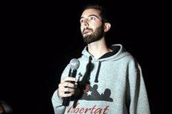 Més d'un centenar de persones desitgen bona nit als presos de Lledoners després de fer-se pública la sentència (ACN)