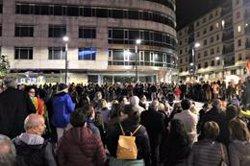 Unes 400 persones a Andorra es manifesten contra la sentència de l'1-O (EUROPA PRESS)