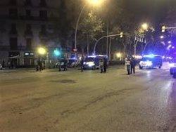 Uns 100 manifestants tallen la Gran Via de Barcelona uns minuts i es dissolen (EUROPA PRESS)