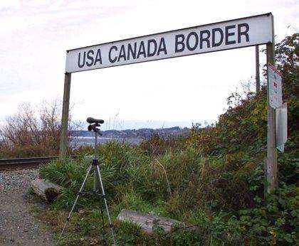 Detenida una familia británica tras cruzar de forma accidental la frontera entre EEUU y Canadá
