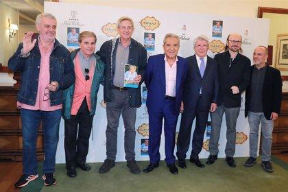 Andrés Pajares presenta sus memorias junto a su hijo y con Cerezo o Santigo Segura