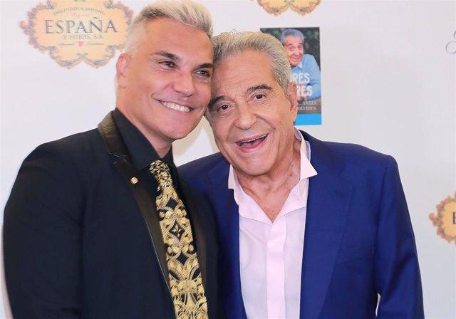 Andrés Pajares y Andrés Burguera memorias de portada