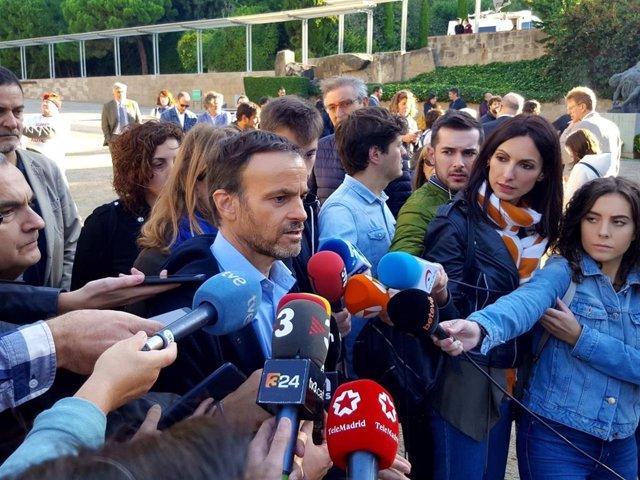 El portaveu d'ECP al Congrés, Jaume Asens