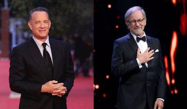 Steven Spielberg y Tom Hanks