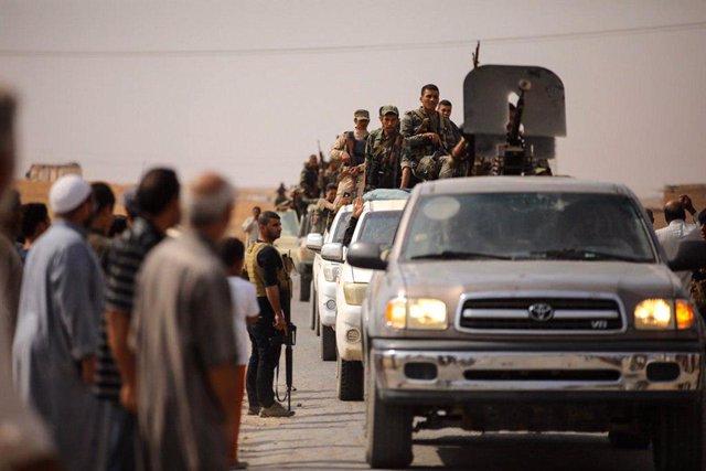 Siria.- Las fuerzas kurdas recuperan el control de Ras al Ain en una contraofens
