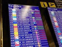 Cancel·lats quatre vols entre les Balears i Barcelona per les protestes per la sentència (EUROPA PRESS)